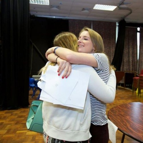 Lara from Ark 6th Form East Sussex celebrates her A Level results