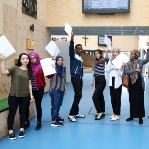 A-level students at Ark St Albans Academy