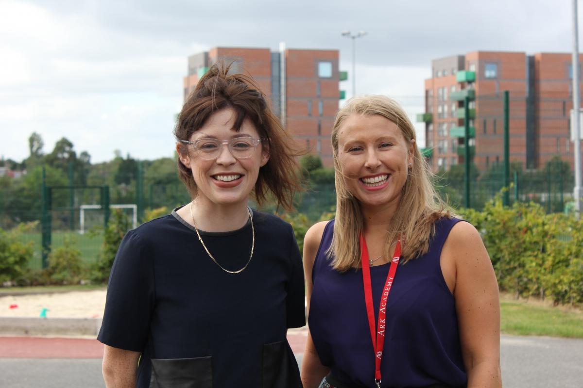 Camilla Oscroft and Jo O'Byrne