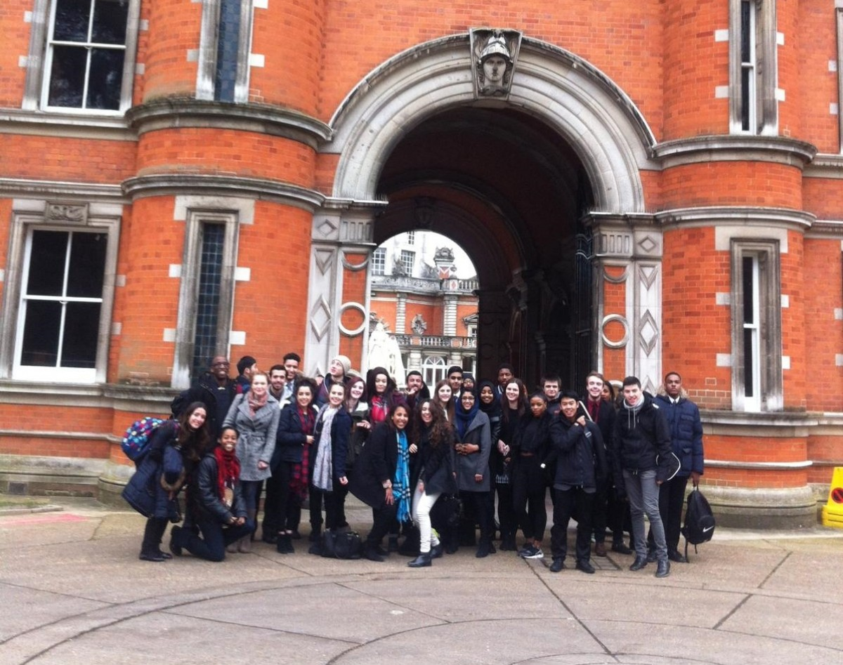 Ark Putney students at royal holloway